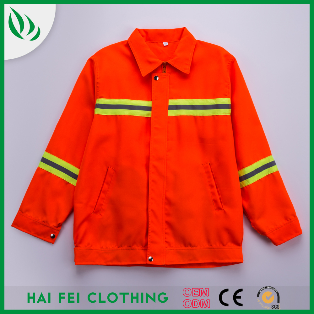 Hot sale Reflective fireproof work clothes