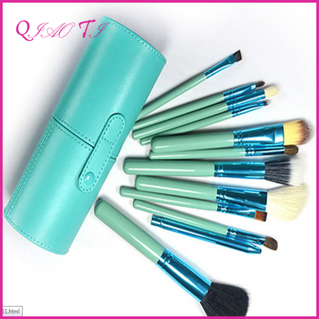 High quality beauty and personal care product Makeup Brush Set With Cylinder Case