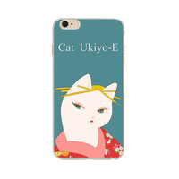 FactoryTPU fashion Japannese style cartoon mobile flip smartphone custom phone cover manufacturer for iphone 6