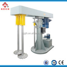 1000L double shaft industrial high speed paint disperser mixer