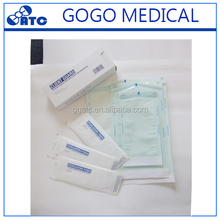 Medical packaging autoclave pouches self sealing,sterilization pouches for autoclave
