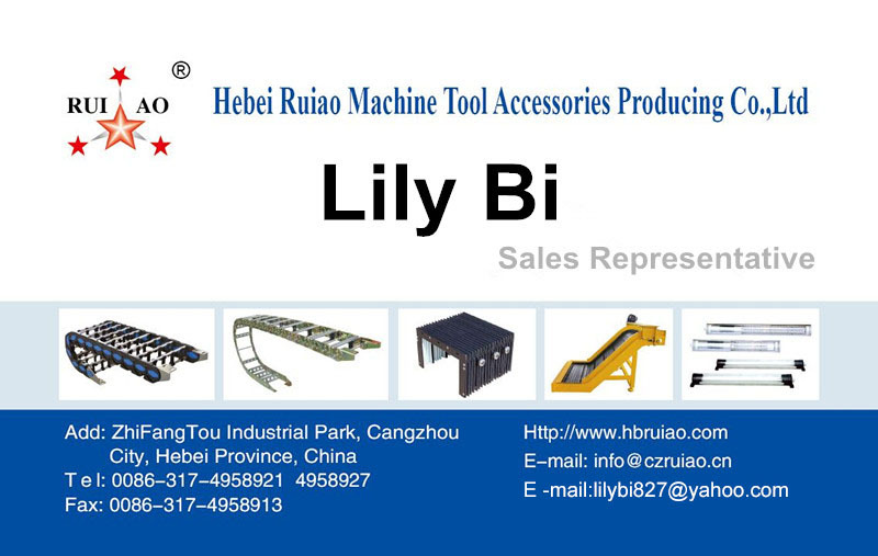 china factory hebei ruiao high quality plastic cable track chain & cable carrier