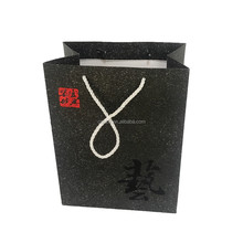 Wholesale foldable paper shopping bag with Twisted Rope Handle and OEM logo