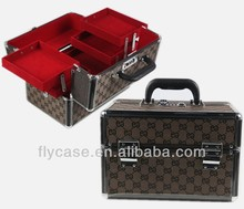 design aluminum vanity carrying cases/aluminum makeup case for <strong>cosmetic</strong>