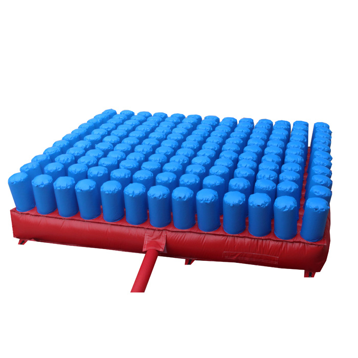 Inflatable foam pit air bag for trampoline park