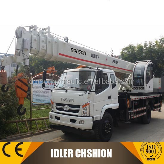 Fashionable design and cost effective 5 ton small truck crane