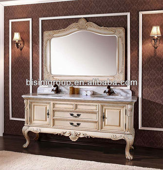 New French Style Vanity Unit Bathroom Vanities Mirror Cabinet Bf08 4152 Buy French Style