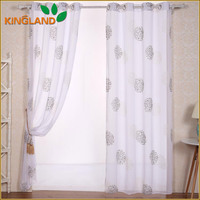 Cheap printed kitchen window curtains