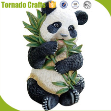 Tornado Crafts 20180113 Animated Life Size Artificial Garden Panda Statue Decoration
