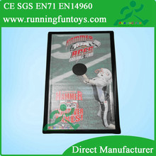 Hot Inflatable football toss game, Inflatable throwing sport game for sales