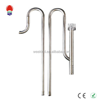 EXW price Stainless Steel Inflow Outflow Lily Pipe Aquarium Fish Tank Filter