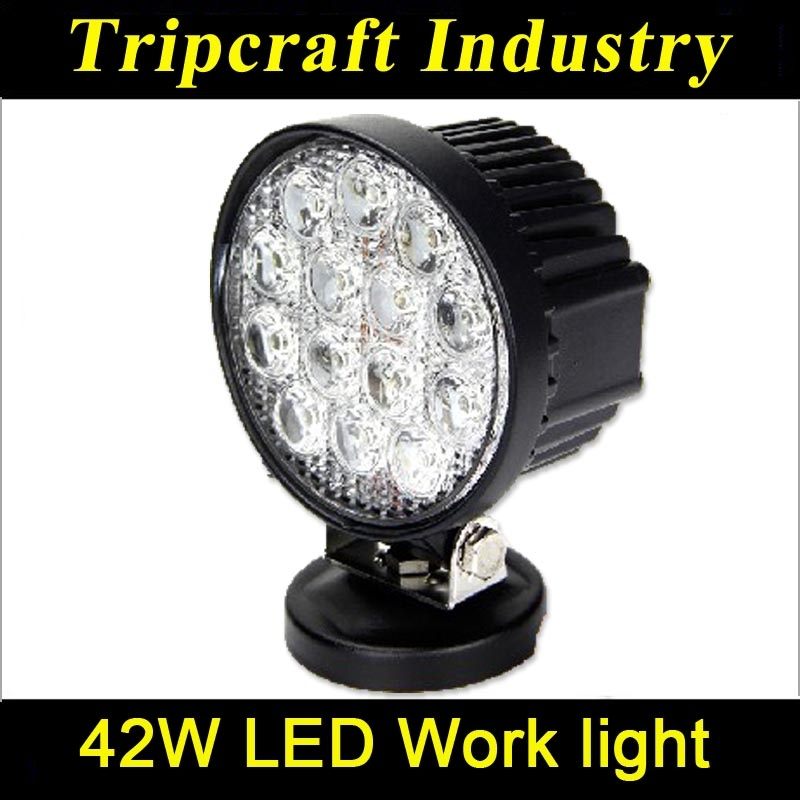 Car accessories IP68 12V 15w 27w 42w 48w offroad led work light for car