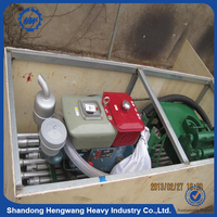 Portable shallow hand water well drilling equipment