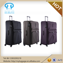 Cheap Fabric Travel Luggage Suitcase 3 Pieces Soft Luggage Sets