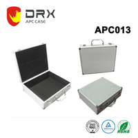 Locking Aluminum Carry Case Tool Box with PU Cover