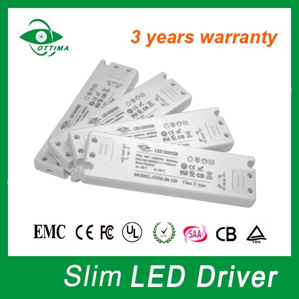 Manufacturer CE RoHS constant current single output switch mode power supply 12v 350mA slim led driver