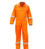 Factory High quality Flame Resistant FR Reflective Coverall, fire retardant safety coverall