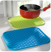 Versatile silicone cup heat resistant mat insulation mats placemat kitchen pad pads tablemat