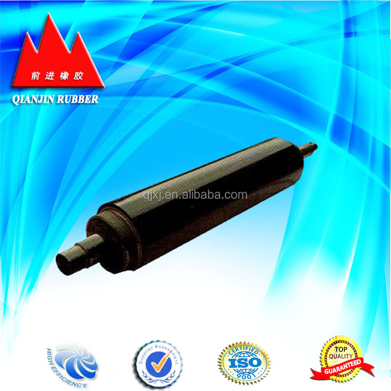 rubber polyurethane roller for printing coal machine
