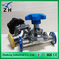 sanitary u type three way diaphragm valve manufacturers
