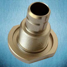 zinc coating cnc spare parts for analytical equipments
