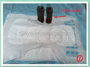 Breathable diaper for overlying bed patients