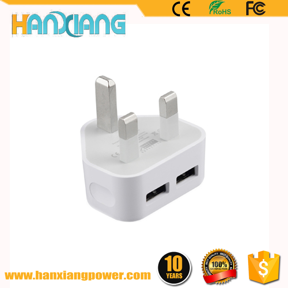 Mobile Accessories Charger 1A/2A EU/UK plug mobile phone 2 pin 3 pin adapter