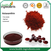 GMP factory supply haematococcus pluvialis astaxanthin extract