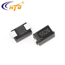 SS26 Schottky SMD Diodes 2A current 60V voltage SS26 rectifier diodes schottky diodes