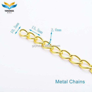Hot fashion iron decorative chain for bag part and accessory