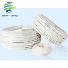 Self-extinguishable Electrical insulation Fiberglass braided Sleeving