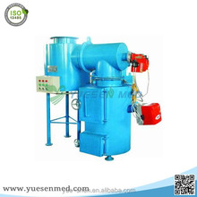 Economic hospital small Smokeless medical waste incinerator , Medical Waste Burning Machine for sale