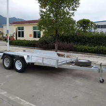 heavy duty aluminium car trailer with various size