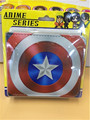 Wholesale Hot Comics Purse Captain America Shield PU Wallets DNAF5EE053