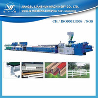 PVC decorating board sheet plank extruder extrusion line