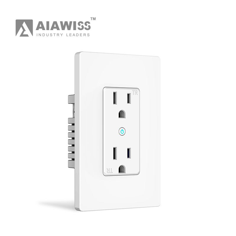 Hot Sell Wall Electric Smart Usb Outlet Wifi Smart Electrical Plug ...