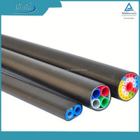 Micro duct 10/8mm 2 way bundle pipe-cable duct, FTTH fiber duct