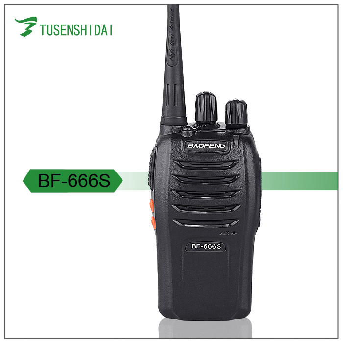 2 Way Radio Baofeng BF-666S UHF 400-470mhz 5w Walkie Talkie