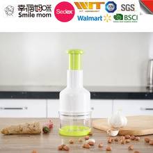 Food dicer chopper plastic vegetable cutter as seen on tv