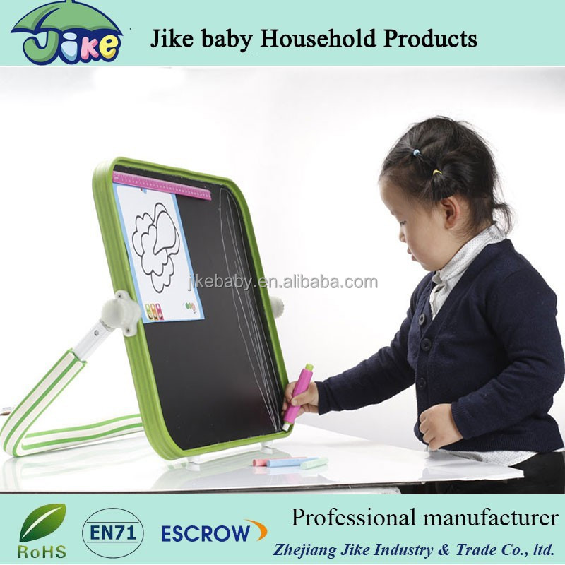 table top blackboard and whiteboard for kids magnetic drawing board toy