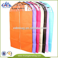 durable clear garment bags with pockets