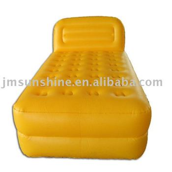 Air Bed /pvc plastic inflatable children/ water bed