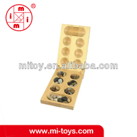 ICTI certified Mancala bamboo eco game toys for children