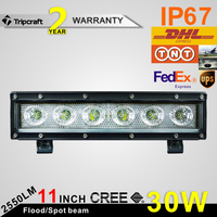wholesale led light bar 30w, Offroad 4x4 6inch led headlight,one row led light