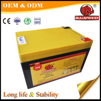 Powerful 12v 12ah e-bike 6-dzm-12 electric scooter rechargeable battery