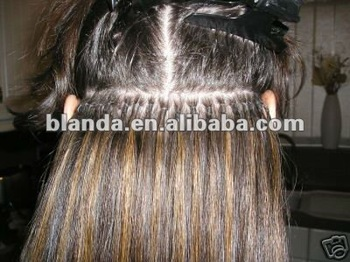 New Shrink-Link Human Hair Extension method