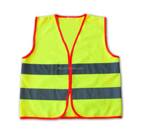 Running Vest Emergency Road Clothes Hunting Vest ,made of polyester with 120gsm ployester knitting