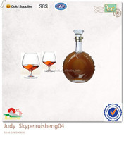 Beautiful appearance 500ml Brandy bottle wholesale