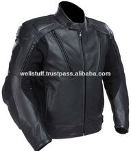 Synthetic Leather High Quality With Customized Design Motorbike Jackets