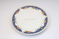 10.5 ceramic dinner plate , porcelain dinner plate linyi , cheap ceramic dishes plates / custom made porcelain dishes